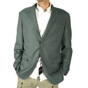 Nordstrom Mens Shop Blazer Coat Size 44 R Trim